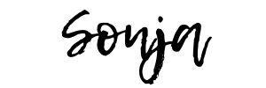 Sonja's electronic signature