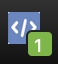 Picture of the Facebook pixel helper extension icon.